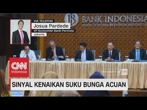 Sinyal Kenaikan Suku Bunga Acuan - Josua Pardede, VP Economist Bank Permata