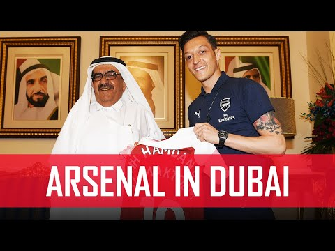 Arsenal visit Zabeel Palace in Dubai | #ArsenalinDubai