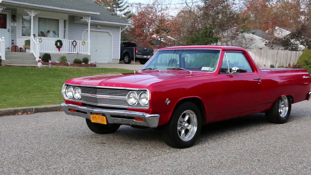 1965 Chevrolet El Camino Pickup For Sale~283~4 Speed~Completely ...
