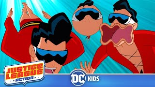 Justice League Action | The Best of Plastic Man | DC Kids