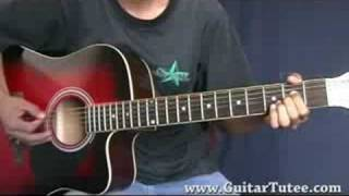 Breakout (of Miley Cyrus, by www.GuitarTutee.com)