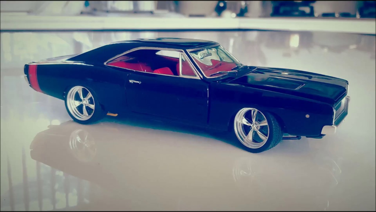 1 25 Revell 1968 Dodge Charger Modified Build Youtube