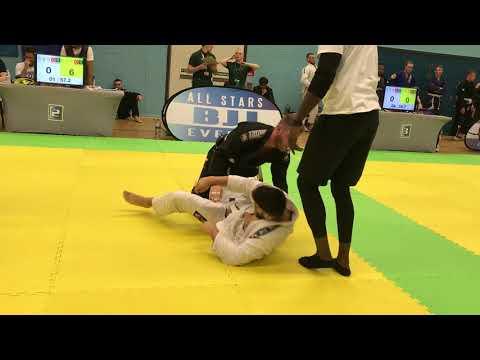1st BJJ Match - White Belt 1 Stripe - LOSS