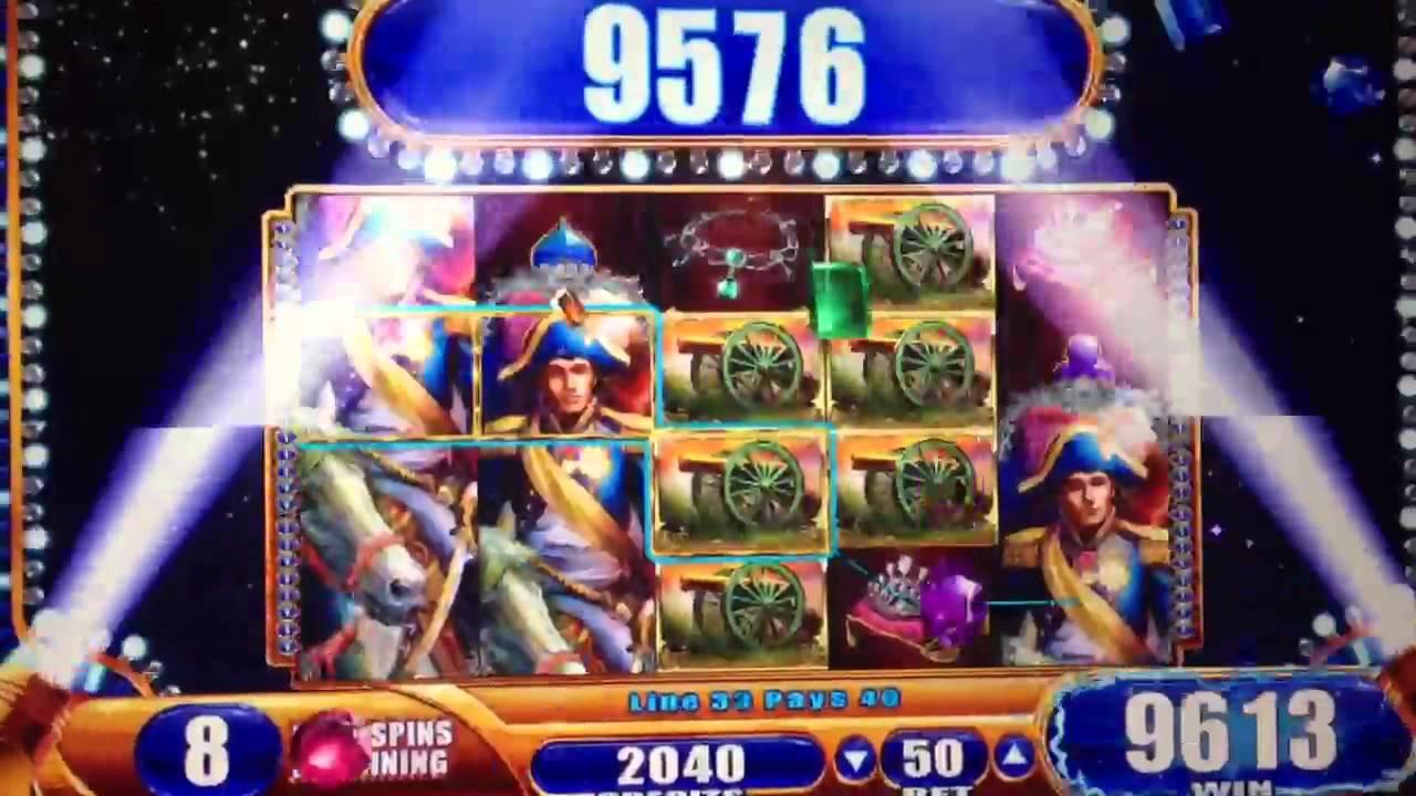 Slot machine gratis napoleon