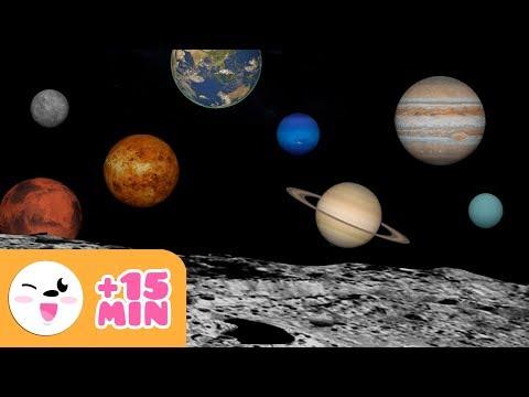 El Sistema Solar para niños | Planeta a planeta | Recopilación