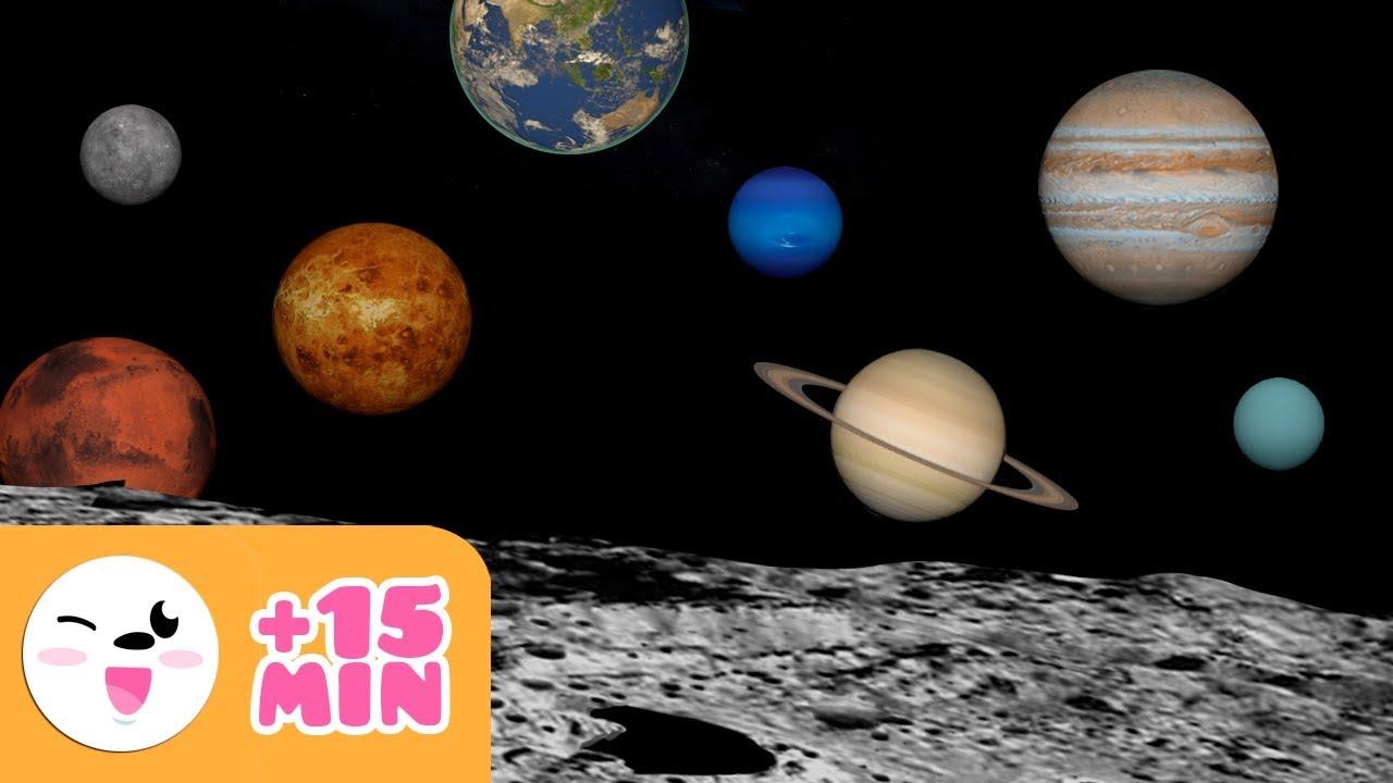 El Sistema Solar Para Niños Planeta A Planeta Recopilación