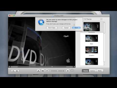 IMovie To IDVD