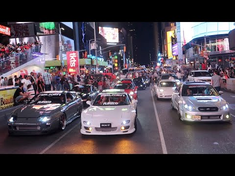 SHUTTING DOWN TIMES SQUARE WITH JDM LEGENDS