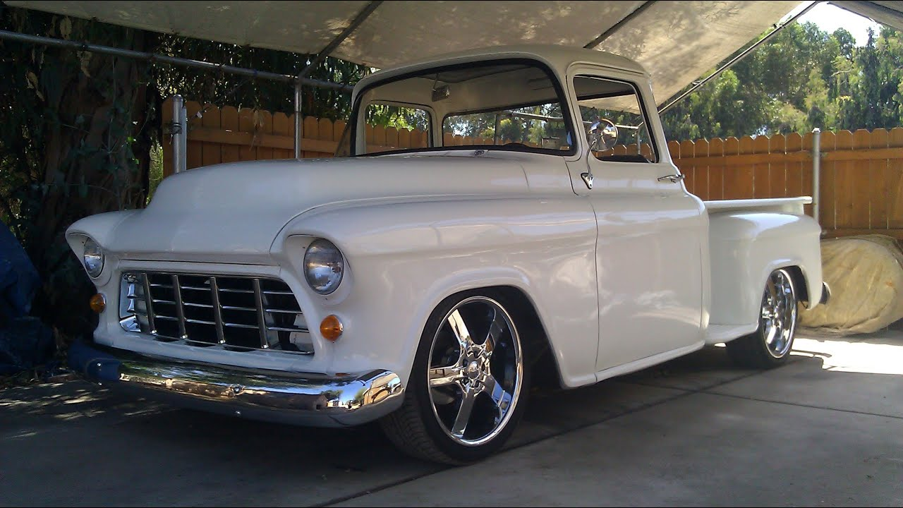 1955 Chevy Truck 2 Year Backyard Rebuild Step By Step