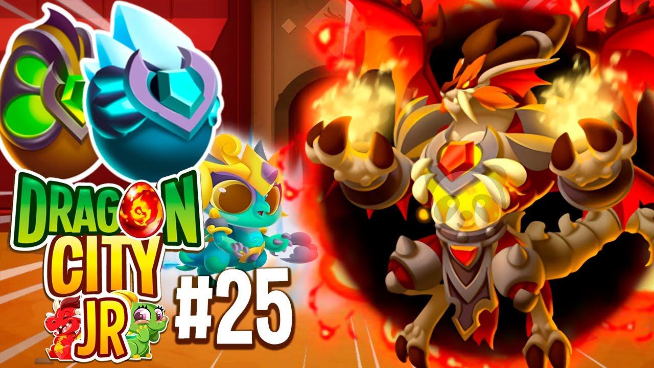 MI NUEVO DRAGÓN VAMPIRO PECADOR ¡OMG!😳 NUEVO HEROICO TIFÓN, VAMPIROS & COLECCIÓN! Dragon City Jr #25
