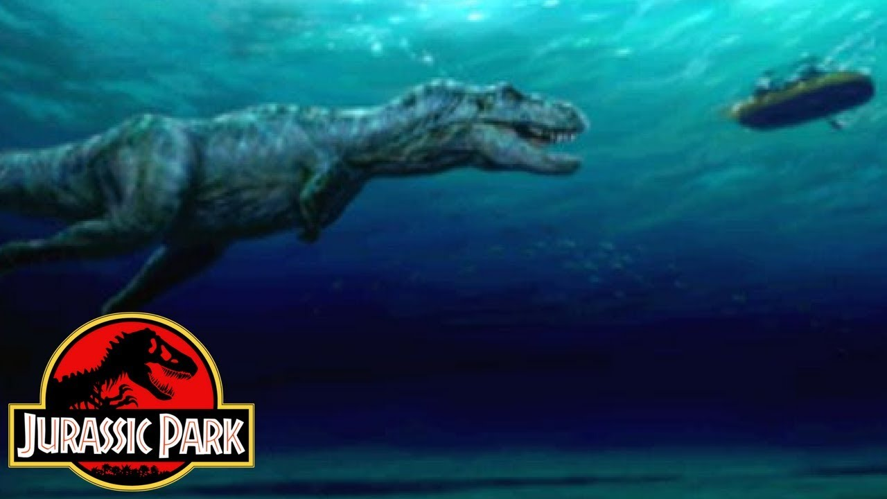 Why The River Raft Scene Was Cut From Jurassic Park ...