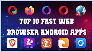 Top 10 fast web browser Android App | Review screenshot 3