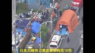 日本持刀袭击案致两死16伤 安倍指示要保障孩子安全