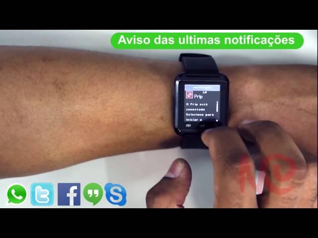 SmartWatch U8 - 3 Meses de Garantia - Compras de AaZ