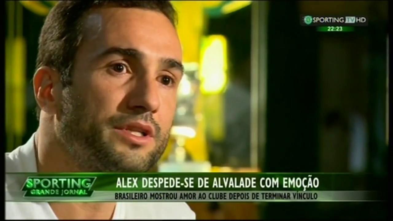 Alex despede-se de Alvalade com emoção no final da época 2014/2015