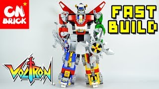 LEGO VOLTRON FAST BUILD LEPIN 16057 Unofficial LEGO lego videos