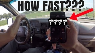 HOW FAST IS THIS 400HP 7.3 POWERSTROKE!?!?