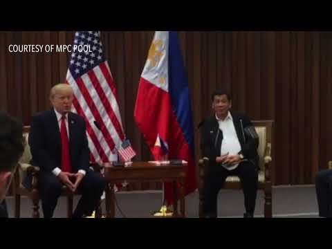 ASEAN 2017: Trump cites 'great relationship' with Duterte in 1st bilateral meeting
