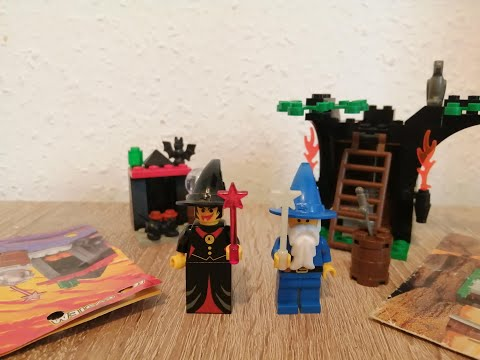 Heti videó: 17#Lego Castle 6020 Magic Shop & 2872 Witch Fireplace