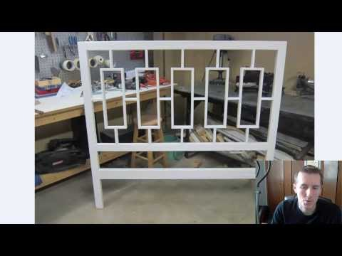 DIY - How to Make a Wood Headboard
