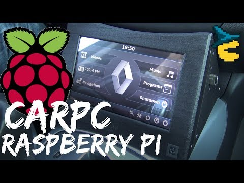 Raspberry Pi carpc [MAKER'S REPORT]