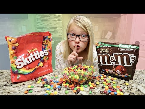 M&M AND SKITTLES SWITCH UP PRANK!