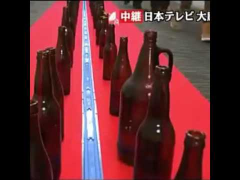 WACKY WEDNESDAY | The 'William Tell Overture' Beer Bottle Train [ONLY IN JAPAN]