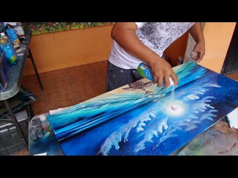 Mayan Blue Spray Paint