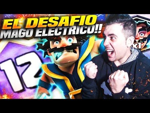 GANO el DESAFIO del MAGO ELÉCTRICO!! | Clash Royale | Rubinho vlc