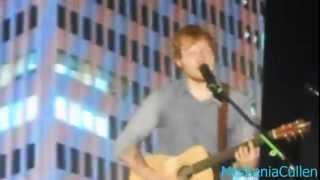 Ed Sheeran thanks us and Sing in Milan