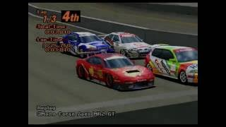 Gran Turismo 2 - Momo MR2 - Laguna Seca - (ft. Throwing Muses) [HD]