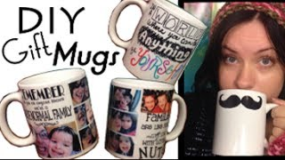 How To: Diy Personalized Mug | Easy Cheap Gift | Step By Step Tutorial