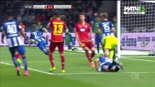 герта 1:3 Хоффенхайм  Чемпионат Германии 2016/17  26-й тур  Обзор матча