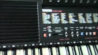 Greensleeves demo song on Yamaha PSR-82 keyboard