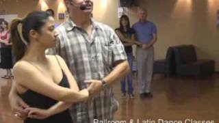 Ballroom social at DF Dance Studio in SLC, UT