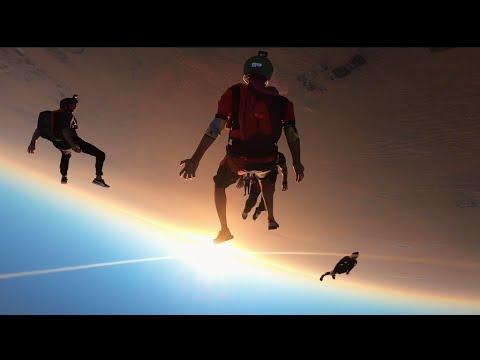 Skydive Tracking Camp Dubai