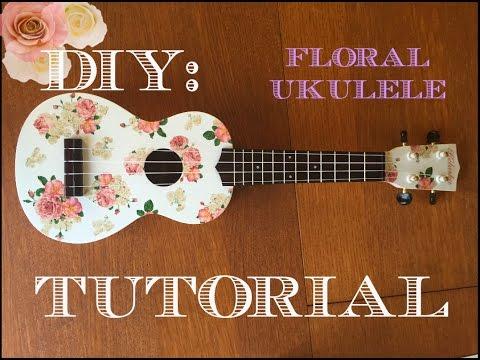 DIY Floral Ukulele Tutorial (Kelaska)