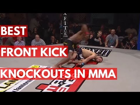 TOP 5: Front Kick Knockouts in MMA History