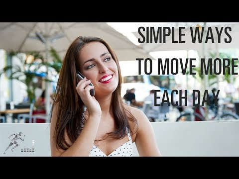 Tips to sit less and move more