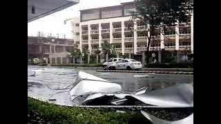 Typhoon Glenda Hits Taguig Philippines