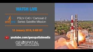 Watch Live- PSLV-C40 / Cartosat-2 Series Satellite Mission