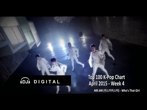 Top 100 K-Pop Chart for April 2015 Week 4 (Reuploaded)