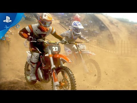 MXGP 3: The Official Motocross Video Game - Customization Trailer | PS4