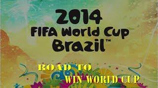 FIFA 14 WC   ROAD TO WIN WORLD CUP #2   RI-SPACCHETTIAMO!!!!!!!  /w 86/88 OVERALL