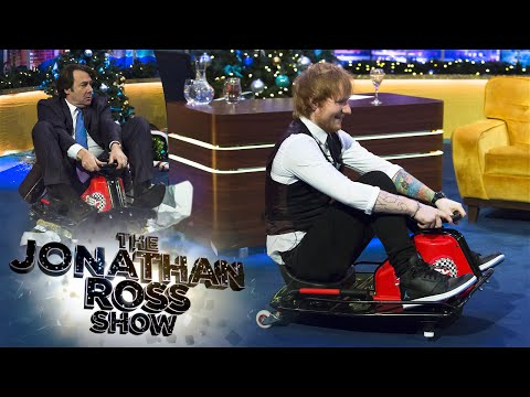 Ed Sheeran And Lewis Hamilton Race!