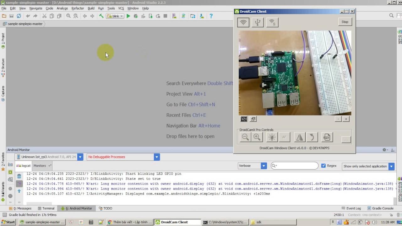 Tut IOT] Lập trình ứng dụng IOT với Android Things-Bài 0