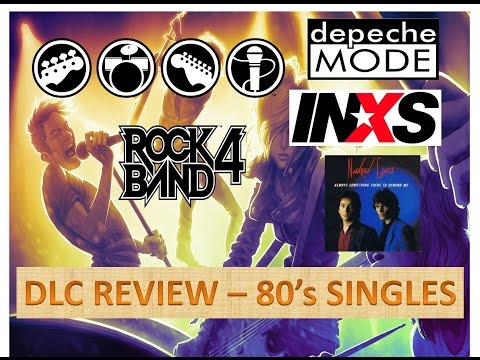 Rock Band 4 DLC Review Ep 4   Depeche Mode, INXS & Naked Eyes