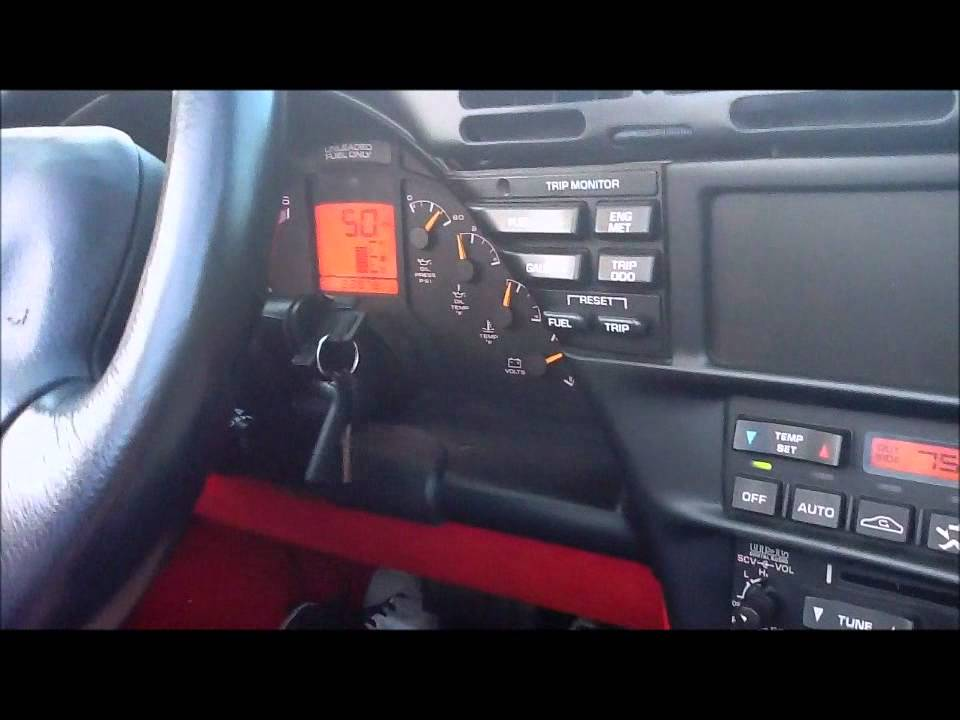 1995 Corvette 0-60 Run