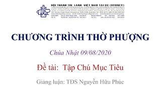HTTL KINGSGROVE (Úc Châu) - Chương trình thờ phượng Chúa - 09/08/2020