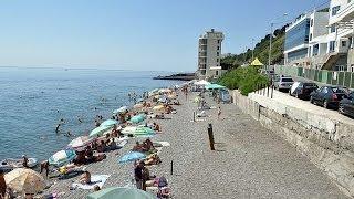 Курорт Алушта, Крым(Алушта — один из самых популярных курортов Крыма. Удобные пляжи, огромный выбор пансионатов и отелей, разви..., 2014-01-06T08:32:29.000Z)